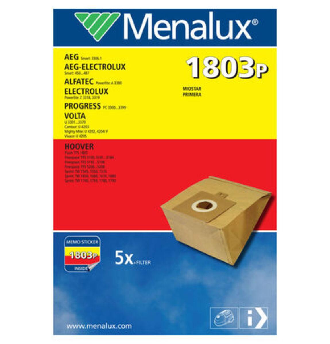 Bild 2 von Menalux Staubbeutel 3170 für Miele und weitere