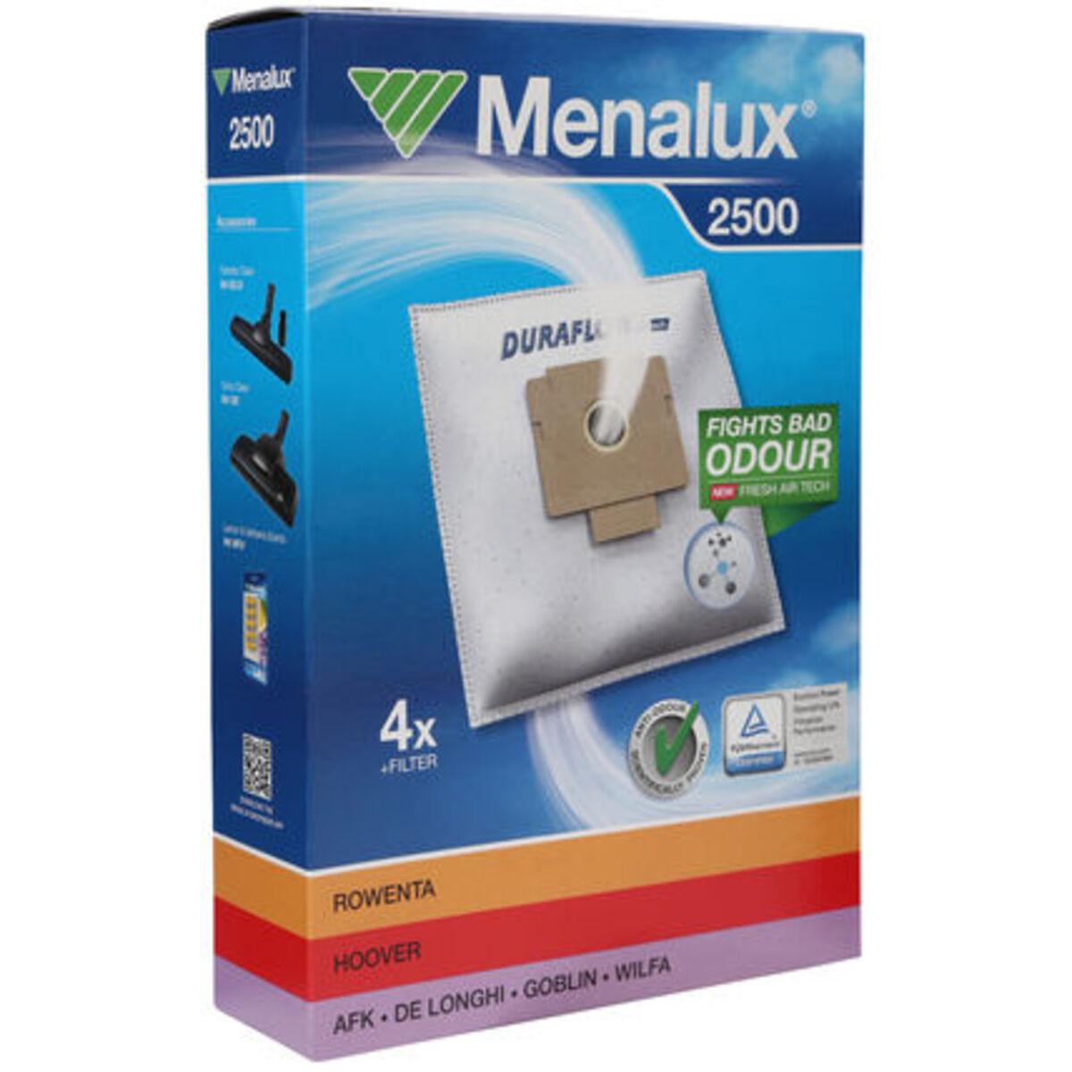 Bild 2 von Menalux Staubsaugerbeutel Duraflow 2500, Synthetik, 10er Pack