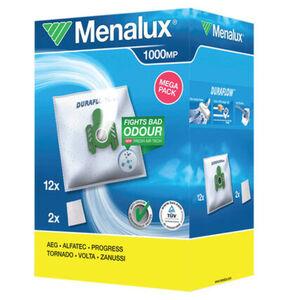 Menalux 1000 MP 12 Staubbeutel mit 2 Microfilter für AEG und weitere
