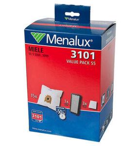 Menalux Staubsaugerbeutel Duraflow 3101 S5 15-teilig