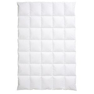 Centa-Star Daunendecke harmony 155/220 cm , 5107.03 DED 5X7 Harmony , Weiß , Textil , 155x220 cm , Flachgewebe , temperaturausgleichend, feuchtigkeitsregulierend, weich und anschmiegsam , 0035030059