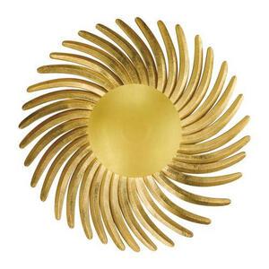 XXXLutz Led-wandleuchte , 30044 Shine Alu , Goldfarben , Metall , 003151069302