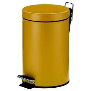 Kela Kosmetikeimer monaco , 24285 Dnp , Currygelb , Metall , 26 cm , 0043200801