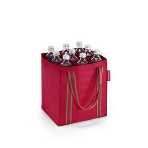 Reisenthel Einkaufstasche , Zj3004 , Rot , Textil , Uni , 24x28x24 cm , faltbar , 003555002207