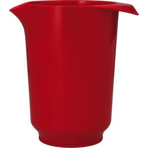 Birkmann Rührschüssel , 708075 , Rot , Kunststoff , 15.3000x16.0000x11.2000 cm , Standring unten , 004075003504