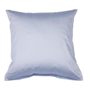 Janine Kissenhülle blau 40/40 cm , Giacomo , Textil , Uni , 40x40 cm , Makosatin , 003361067412