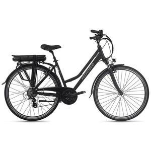 XXXLutz E-bike 28'' marseille 115e , E-Bike 28'' Marseille 115E , Schwarz , Metall , bürstenloser Motor, Display mit Led, Beleuchtung vorne und hinten, Antirutschpedale, Rücklicht, Seitenständer,