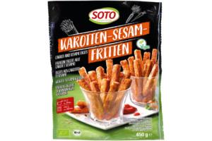 Karotten-Sesam-Fritten