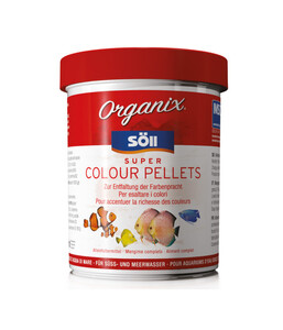Söll Organix Super Colour Pellets, Fischfutter