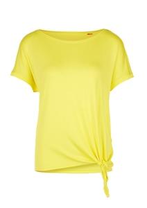 Damen T-Shirt mit Knoten-Detail