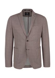 Herren Slim: Gemusterter Jogg Suit-Sakko