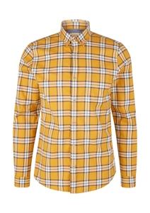 Herren Slim: Hemd mit Karomuster