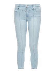 Damen Skinny Fit: Helle 7/8-Jeans