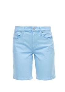 Damen Slim Fit: Coloured Denim-Shorts