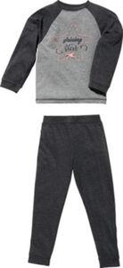 Erwin Müller Single-Jersey Kinder-Schlafanzug  Sterne langarm#lange Hose 110 / 116
