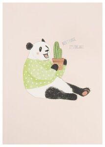 HEMA Heft, 25.5 X 18 Cm, Liniert, Panda