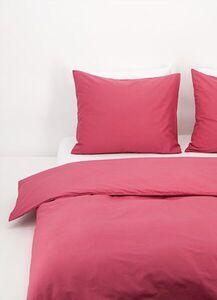 HEMA Bettwäsche, Baumwolle, Einfarbig Dunkelrosa