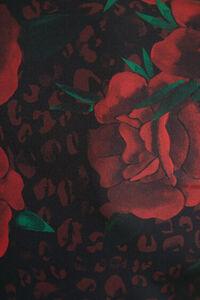 Shirt im Slim Fit mit Rosen