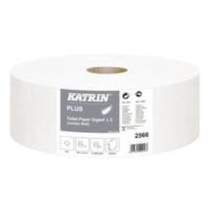 6 Rollen Katrin Plus Gigant Toilettenpapier 2-lagig, weiß saugfähig
