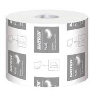 1 Rolle Katrin Plus System Toilettenpapier 3-lagig, weiß