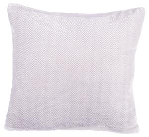 Home Ideas Living Deko-Kissen 50x50, grau/weiß