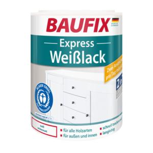 Baufix Express Weißlack seidenmatt