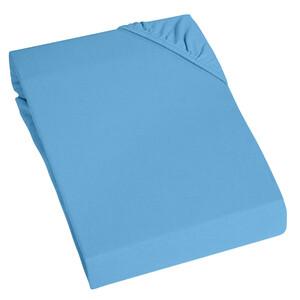 Home Ideas Living Jersey Spannbetttuch, blau
