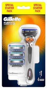 Gillette Fusion5 ProGlide Flexball Systemklingen 4er und Handstück