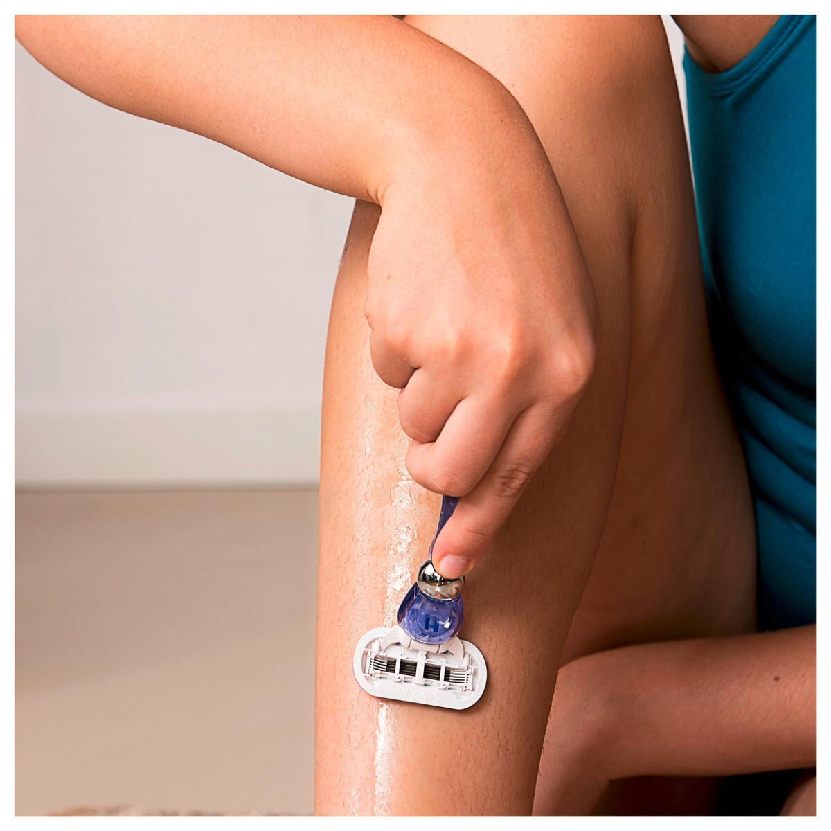 Bild 5 von Gillette for Women Venus Swirl Systemklingen 3er und Handstück