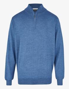 Bexleys man - Pullover mit Stehkragen und Reißverschluss