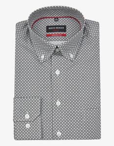 Bernd Berger - Dresshemd mit Punkteprint, MODERN FIT