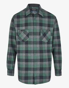 Bexleys man - Kariertes Flanellhemd mit zwei Brusttaschen, REGULAR FIT