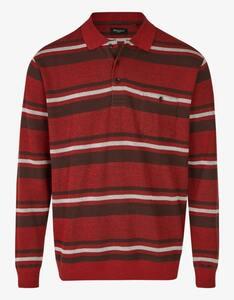 Bexleys man - Gestreiftes Polo-Sweatshirt mit Brusttasche
