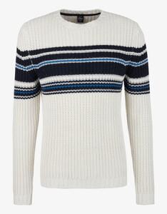 s.Oliver - Pullover mit Streifen-Details