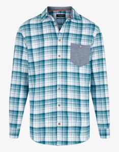 Bexleys man - Kariertes Flanellhemd mit farbiger Brusttasche, REGULAR FIT