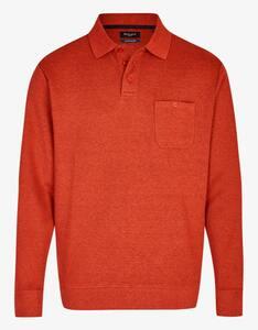 Bexleys man - Polo-Sweatshirt mit Brusttasche