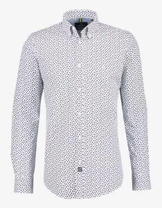 Lerros - Hemd mit Minimal-Alloverprint