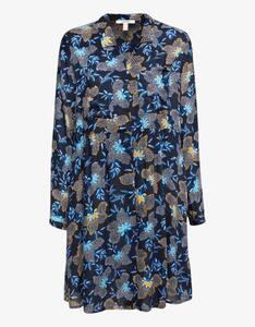 Esprit - Blusenkleid mit Blumen-Print