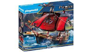 PLAYMOBIL 70411 - Pirates - Totenkopf Kampfschiff