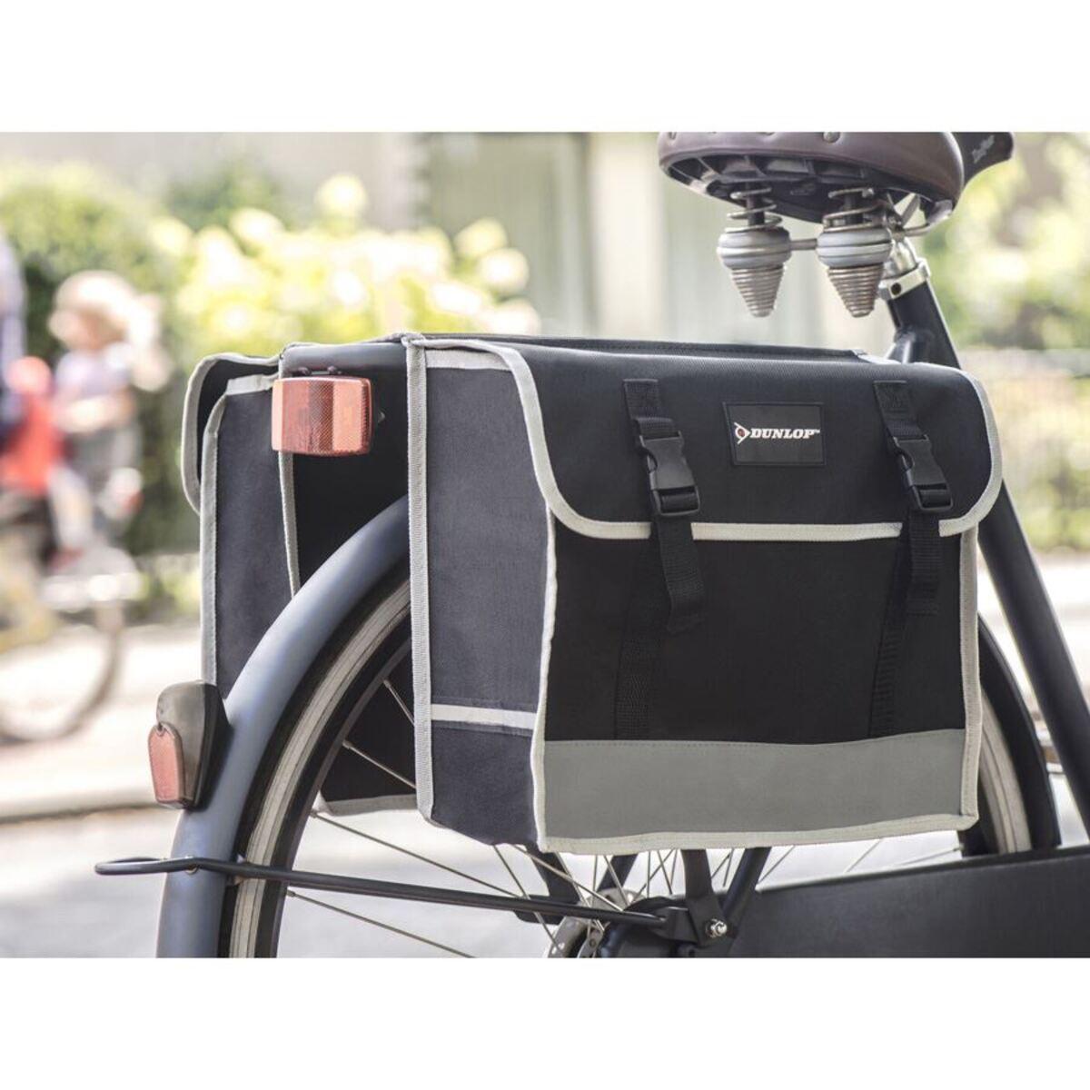 Bild 2 von Dunlop Fahrrad-Doppelsatteltasche