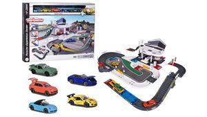 Majorette - Porsche Experience Center + 5 Fahrzeuge