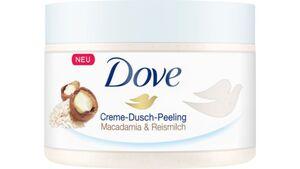 DOVE Creme-Dusch-Peeling Macadamia & Reismilch