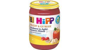 HiPP Bio Himbeere in Apfel-Bananen Müsli