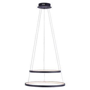 LeuchtenDirekt LED-Pendelleuchte rund Circle