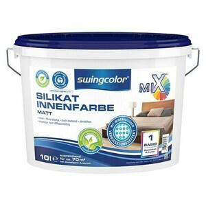 swingcolor Mix Silikat-Wandfarbe