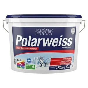 SCHÖNER WOHNEN-Farbe Wandfarbe Polarweiß