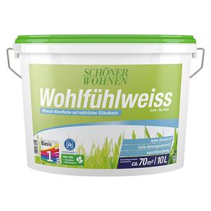 SCHÖNER WOHNEN-Farbe Wandfarbe Wohlfühlweiß