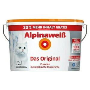 Alpina Alpinaweiß Wandfarbe Das Original