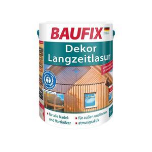 BAUFIX Dekor-Langzeitlasur teak 5L 2er Set
