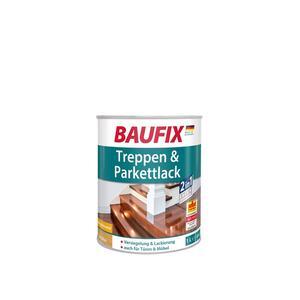 BAUFIX Treppen & Parkettlack seidenglänzend 1L 4er Set